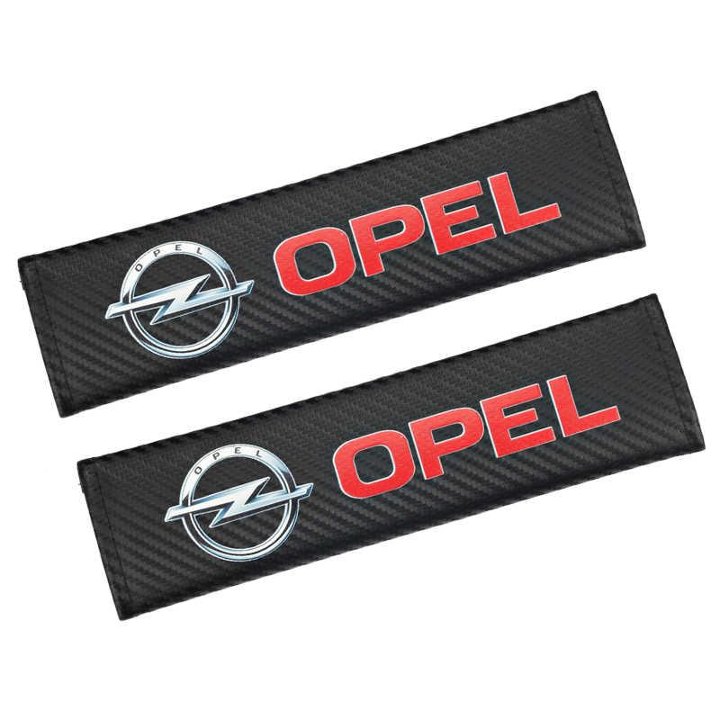 2 шт. Новое поступление углеродного волокна Защитный чехол для Opel Astra H G J Insignia Mokka