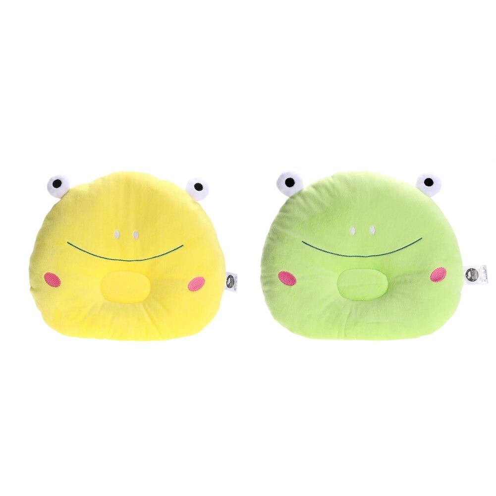 Baby Pillow Infant Prevent Flat Head Pillows Frog Figure Soft Children Newborn Bed Sleeping Positioner