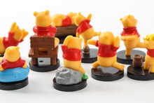 Disney figurka kubuś puchatek rysunek 3-4 cm 9 sztuk zestaw figurka postawa Anime dekoracji kolekcjonerskie lalki dla dzieci prezent tanie tanio Modelu Unisex Film i telewizja Wyroby gotowe Zachodnia animiation Żołnierz gotowy produkt Żołnierz zestaw Żołnierz części i podzespoły elektroniczne