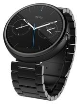 1:1 Original Edelstahl Armband Für MOTO 360 erste generation Smartwatch 22mm Schmetterling Verschluss