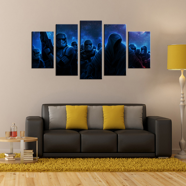 Star Wars Stormtrooper Canvas Painting