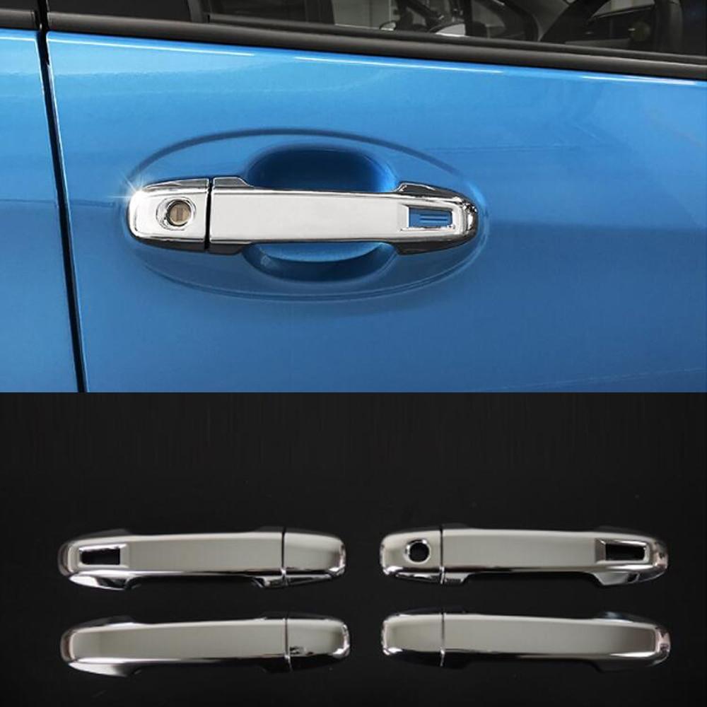 For Renault Kadjar 2016-2019 Chrome Car Door Handle Bowl Cup Cover Trim Sticker