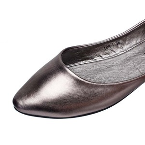 Image 5 - Plus Size 35 41 Fashion Flats for Women 2016 Pointed Toe Soft Outsole Flat Heel Shoes Single Street Fashion Flats Free Shipping