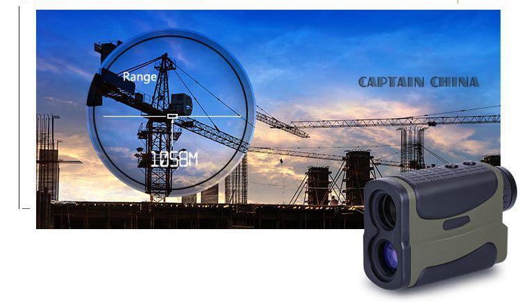 700m 6X25 Laser Range Finder Monocular Telescope Hunting font b Rangefinder b font Outdoor Ranging Speed