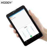 New XGODY V7 Unlocked 3G Tablet 7 Inch Android 6 0 Marshmallow MTK8321 Quad Core 1G