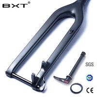 MTB углерода вилка 29er Горные DH велосипедов вилка Bicicletas жесткая горный велосипед передняя вилка Fibre rockshox конические через мост 15 мм