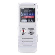 Electrónica de consumo 8 GB Profesional Multifuncional de Doble Núcleo Estéreo Reducción de Ruido Grabadora de Voz Digital con Reproductor de MP3