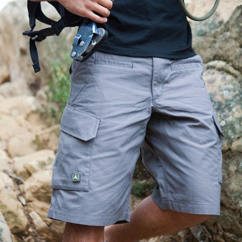Esdy Army Men Tattico Militare Di Combattimento Di Grandi Dimensioni Multi-tasca Dei Pantaloni Di Bicchierini Di Caccia Esterna Di Campeggio Rapido Maschio A Secco Pantaloni Corti