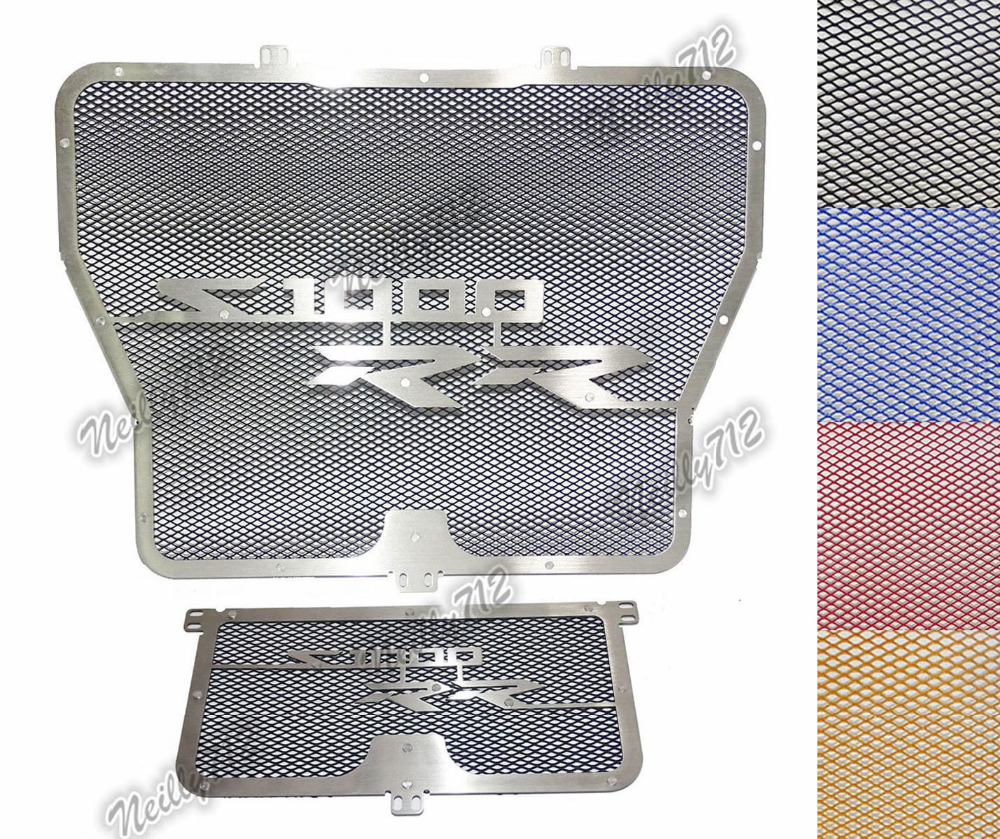 waase Radiator Protective Cover Grill Guard Grille Protector For BMW S1000RR S1000 RR 2009 2010 2011 2012 2013 2014 2015 2016