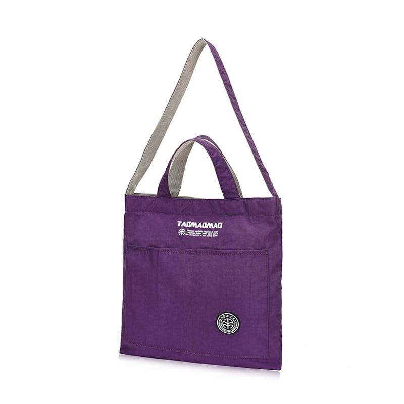 여성을위한 어깨 가방 2018 고품질 나일론 여성 가방 작은 가방 크로스 바디 가방 메신저 가방 bolsa feminina