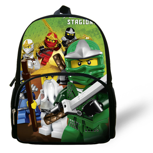 f273231a5d 12inch Toddler Mochila Child Popular cartoon School Bag Kids Fashion small  Ninjago Backpack little Boys Girls Baby Bag