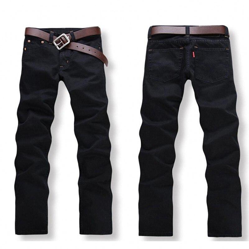 2016 New Arrival Fashion Black Color Slim Straight Leisure & Casual Brand Jeans Men,Hot Sale Denim Cotton Men Jeans,B33077