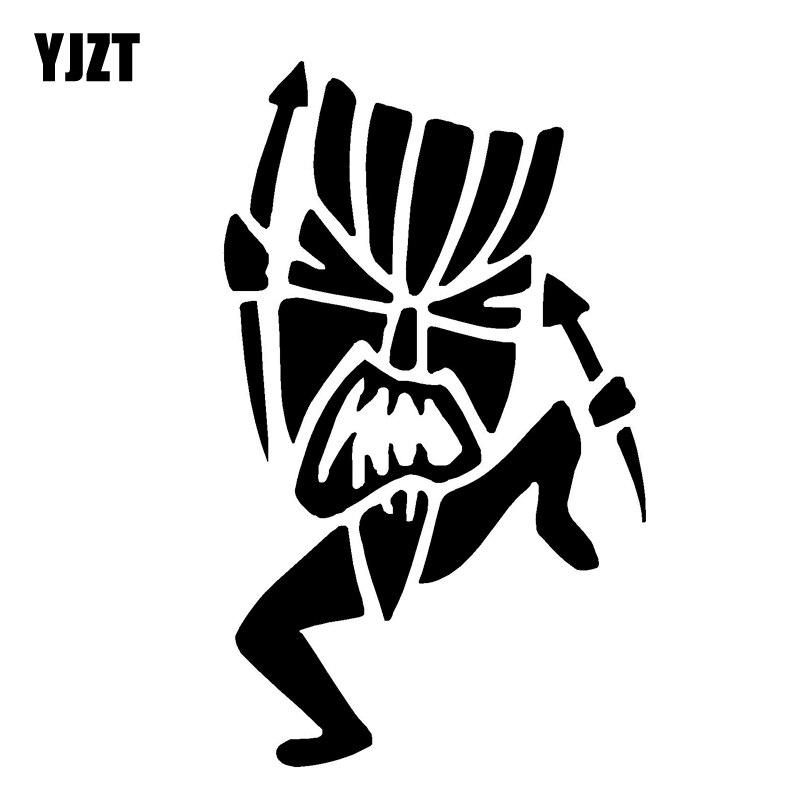 YJZT 8,6 см * 14,3 см Графика перед правой виниловые наклейки черный/серебристый C3-0360