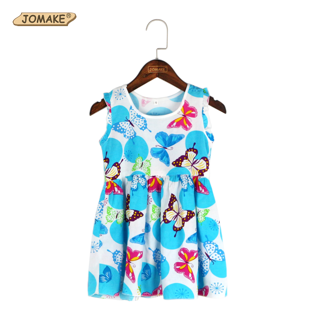 2017 Girls Summer Dress Floral Print Kids Dresses For Girls Party Princess Costumes Baby Girl Clothes Birthday Dress Robe Fille flower girl dress summer style milan creations kids dresses for baby girls princess dress girls costumes robe fille enfant 2 7t