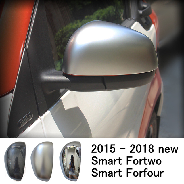 15 18new Smart Fortwo Forfour 453 Car Rearview Mirror Decorative