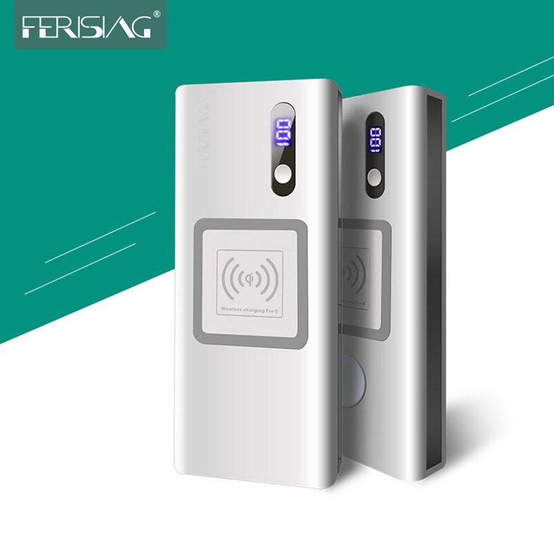 Chargeur sans fil de batterie externe 20000 mAh pour Apple Watch 4/3/2 iPhone X XS XR chargeur de batterie externe pour Macbook iWatch