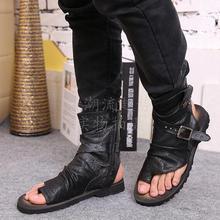 Г., итальянские мужские сандалии модная летняя обувь сандалии-гладиаторы мужская повседневная кожаная обувь мужские роскошные вьетнамки
