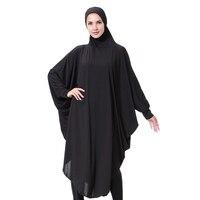 2017 New Traditional Arab Dubai Hooded Abaya Clothes Turkey Turkish Robe Dress Women Plus Size Islamic