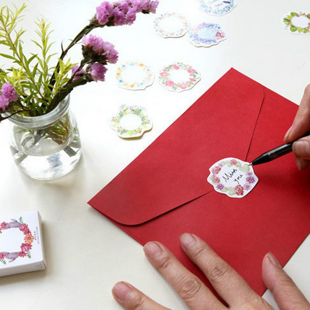 Christmas Gift Packing: Aliexpress.com : Buy New 45pcs/box Paper Floral Writable