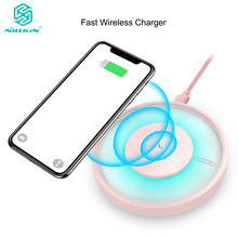 Nillkin 10W Fast Wireless Charger for Samsung Galaxy Note 10 10+ S10 S9 Plus Qi Charging Pad for iPhone 11 Xs Max X for Mi 9 LED