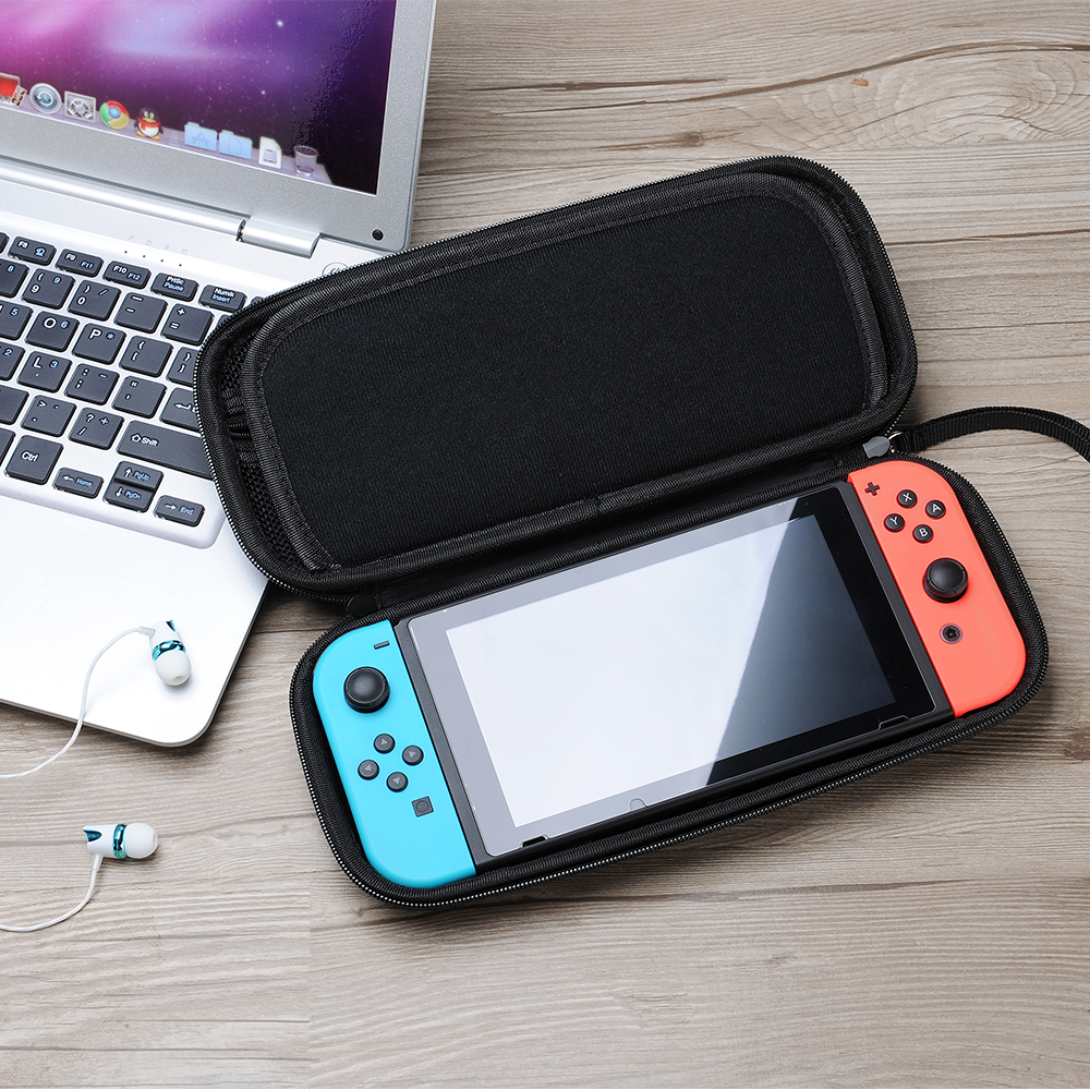 Data Frog For Nintendo Switch Case Bag 12 in 1 Switch Accessories Tempered Glass Screen Protector Cases For Nintend Switch in Bags from Consumer Electronics