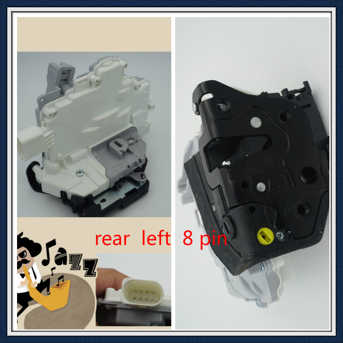 rear left CENTRAL DOOR LOCK LATCH ACTUATOR 3C4839015a FOR VW PASSAT tt B6 b8 audi a4 a5 q3 q5 q7 skoda seat картридж cactus ce285a cs ce285as