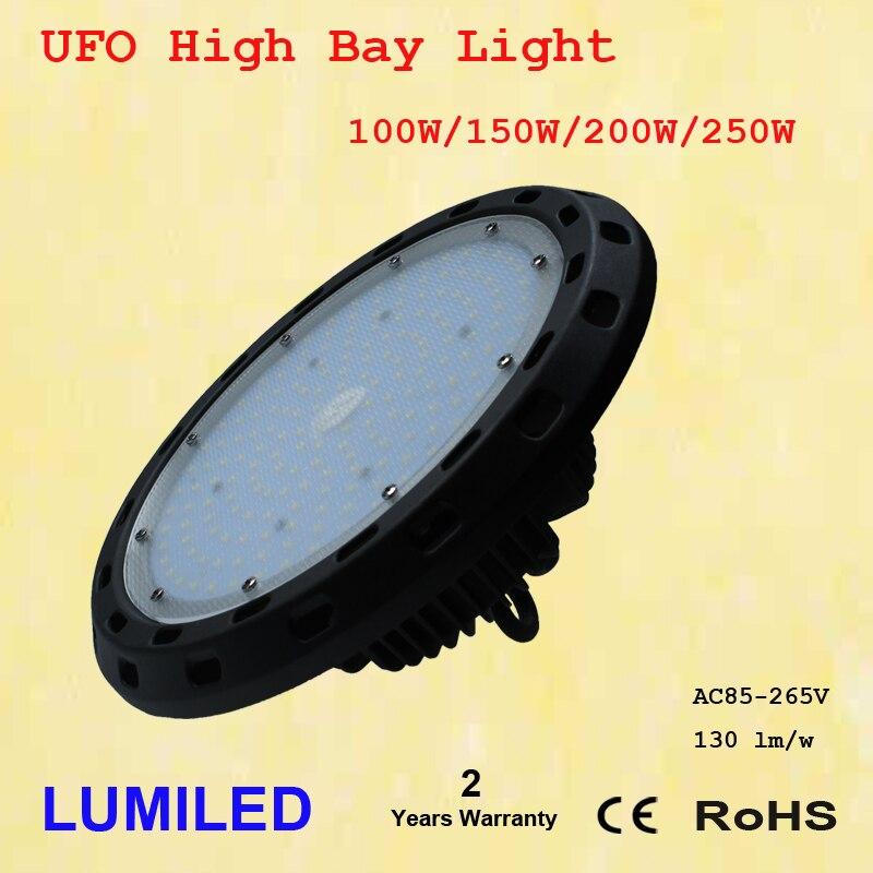 150 Вт светодиодный высокого залива НЛО огни-20,000 люмен-эффективная 130 люмен для Вт-Sleek дизайн и эффективнее- ...