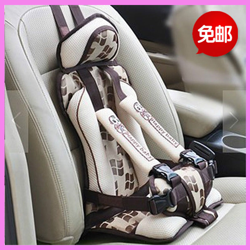 Portable Child Kids Baby Car Safety Seat Booster Cushion Heightening Shoulder Pad Seat Five Point Harness Chair hot sale baby car auto safety seat belt harness shoulder pad cover children protection car covers car cushion support car pillow