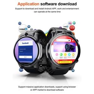"Image 3 - Смарт часы Lokmat X360 4G LTE для мужчин 3gb32гб MT6739 Android 7,1 1,6 ""сенсорный экран Bluetooth GPS 5.0MP Видеозвонок 620 мАч умные часы"