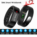 New SMA Band Bluetooth 4.0 Smart Wristband Heart Rate Monitor Activity Tracking Breathing Light SmartBand for iOS Android Phone