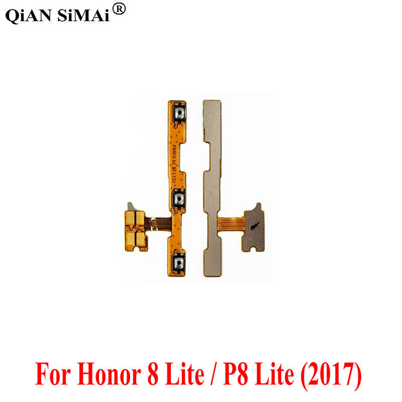 High Quality Volume Button Flex Cable For Huawei Honor 8 Lite / Honor Play 7A 7X 7C Enjoy 8E P8 Lite (2017)