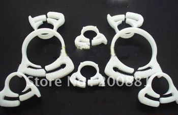 Travel Diameter: 61.0-64.0 (mm)    Quick-Attach-Detach Plastic Pipe Clamp  /   Large Diameter Plastic Clamps