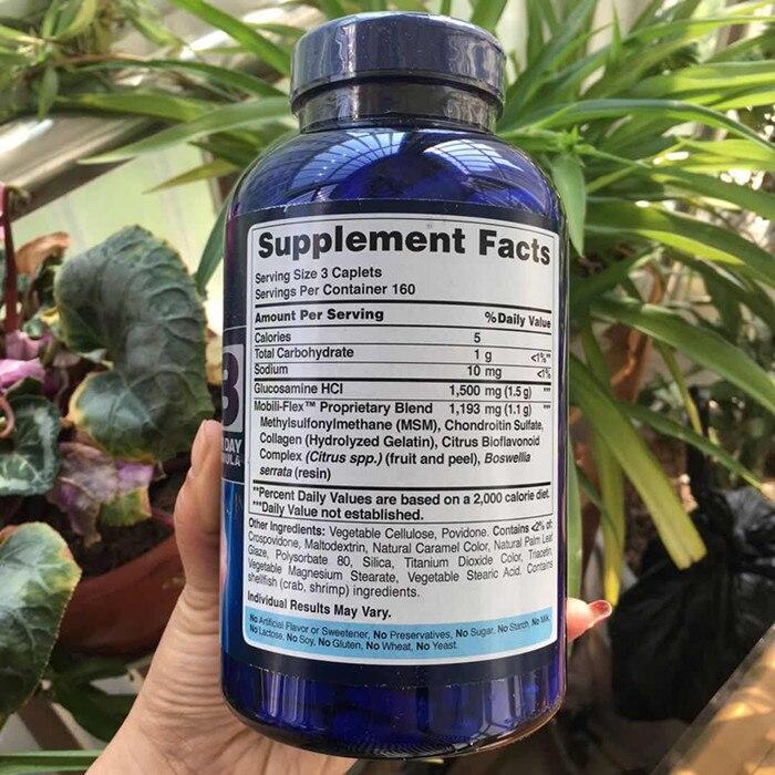 Podwójna siła glukozaminy, chondroityny i Msm wspólne smoczek 480 sztuk darmowa wysyłka w Wyszczuplające produkty od Uroda i zdrowie na  Grupa 2