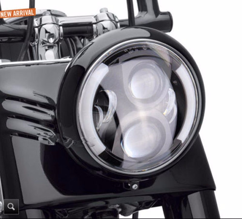 60W OSRAM Daymaker LED Motorcycle Projector Headlight Fits
