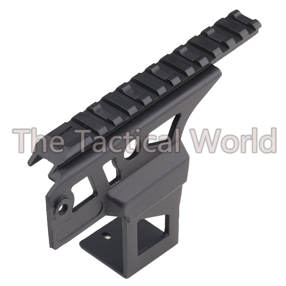 Hunting Airsoft <font><b>AK47</b></font> <font><b>Scope</b></font> <font><b>Mount</b></font> Ris 20mm Top Weaver Rail Side <font><b>Mount</b></font> For <font><b>AK47</b></font> Ris Rail Front Top <font><b>Scope</b></font> Flashlight Laser Receiver image