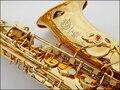 Французский Selmer 802 Ми-Бемоль Альт-Саксофон Марка Профессиональный Саксофон Электрофорез Золото Саксен Музыкальный Инструмент супер действий II