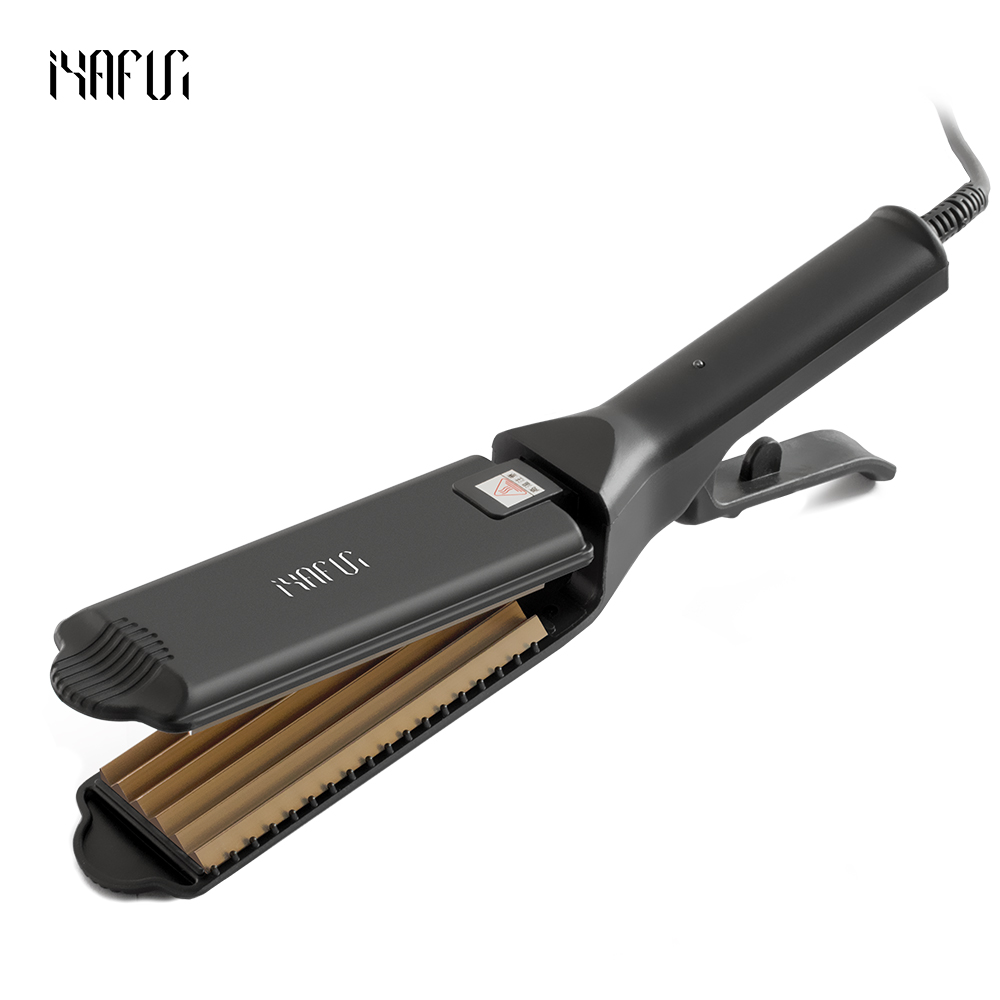 Aluminum Corrugated Curling Hair Electric Hair Straightener Crimper Fluffy Small Waves Hair Curlers Curling Irons Styling Tools коронка пильная makita 38х40мм ezychange b 11368