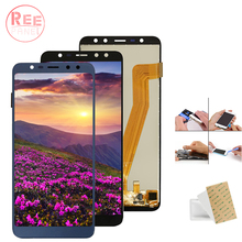 цена на AAA+ Quality Display Panel For Leagoo M9 LCD Display Touch Screen Digitizer Assembly For Leagoo M9 Screen Glass panel M9 LCD