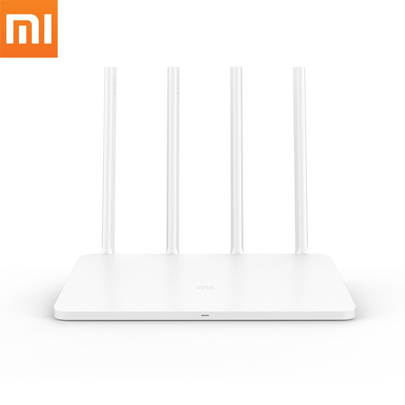 Original Xiaomi WIFI Router 3 Mi 1167Mbps WiFi Repeater 2.4G/5GHz 128MB Dual Band Millet oteador Wireless Routers  xiaomi mi wifi mini router high security 1167mbps dual bands