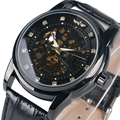 Fresco de la manera de Auto-Viento Reloj de Pulsera Mecánico Muchacho de Los Hombres Reloj de Pulsera Automático Para Hombre Reloj de Vestir Regalo Relogio masculino