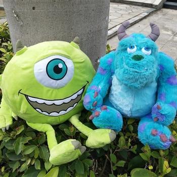 цена Free shipping Original Monsters University plush toys Mike Wazowsk and Sulley Sullivan Monsters Inc Plush doll for birthday gift онлайн в 2017 году