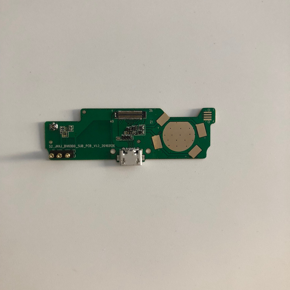 Original New USB Plug Charge Board for Blackview BV6000 4.7 MT6755 Octa core