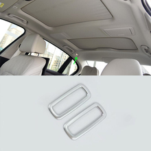 Car-styling accessories ABS matte reading light cover Trim low configuration For BMW 5 Series 2018