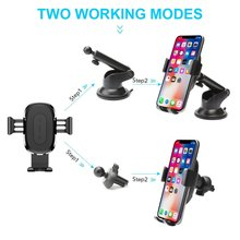 Baseus 2in1 Wireless Car Charger Holder for iPhone X 8 Samsung S9