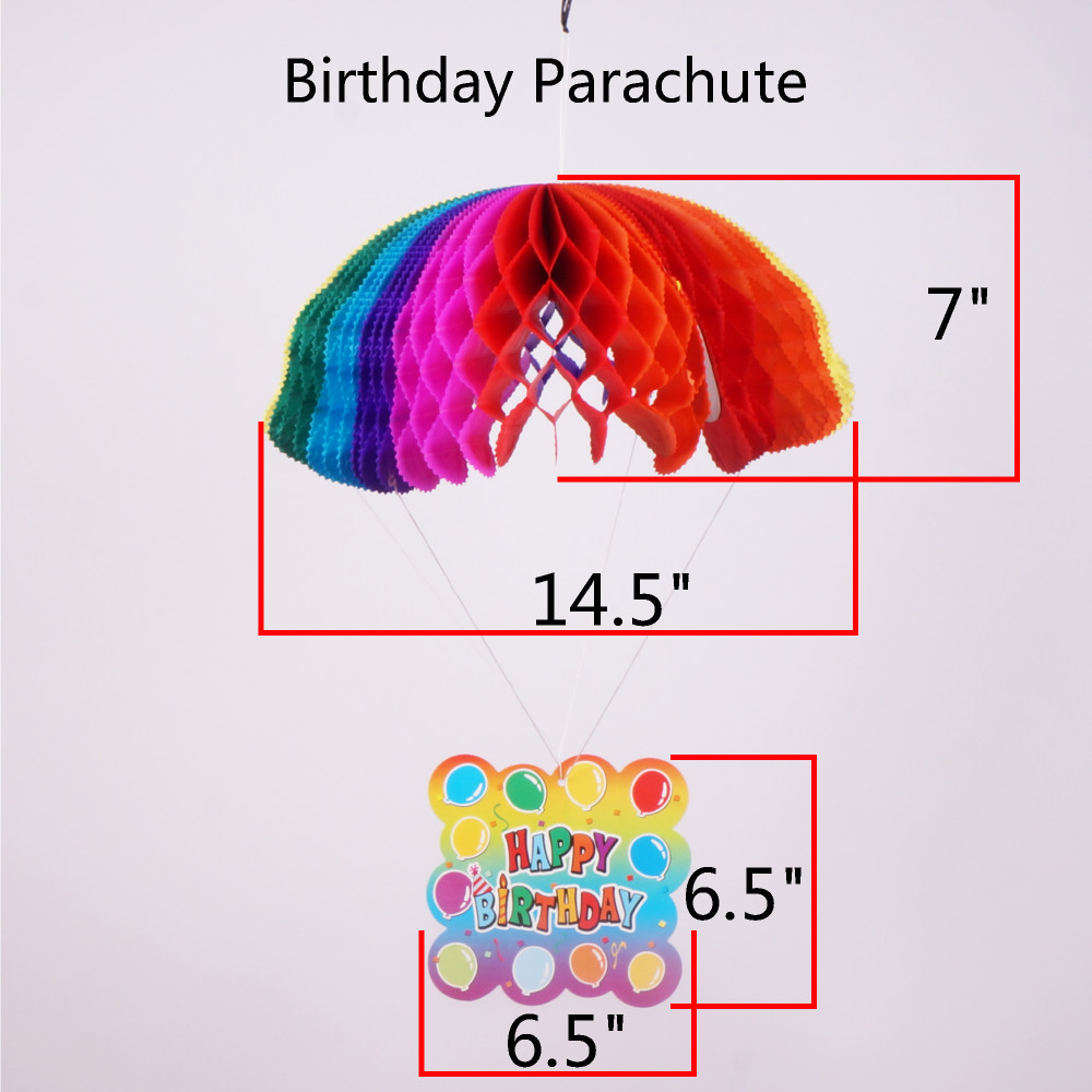 RiscaWin Birthday Party Supplies Tissue Paper Birthday Folding ...