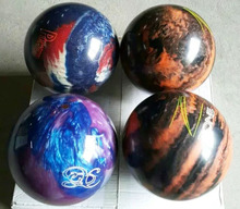 3 colors available 8lbs glow in dark urethane bowling ball