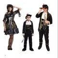 2016 новый хэллоуин женский пиратские костюмы на хэллоуин рождество пиратские костюмы девушки ну вечеринку косплей костюм семья пиратский костюм
