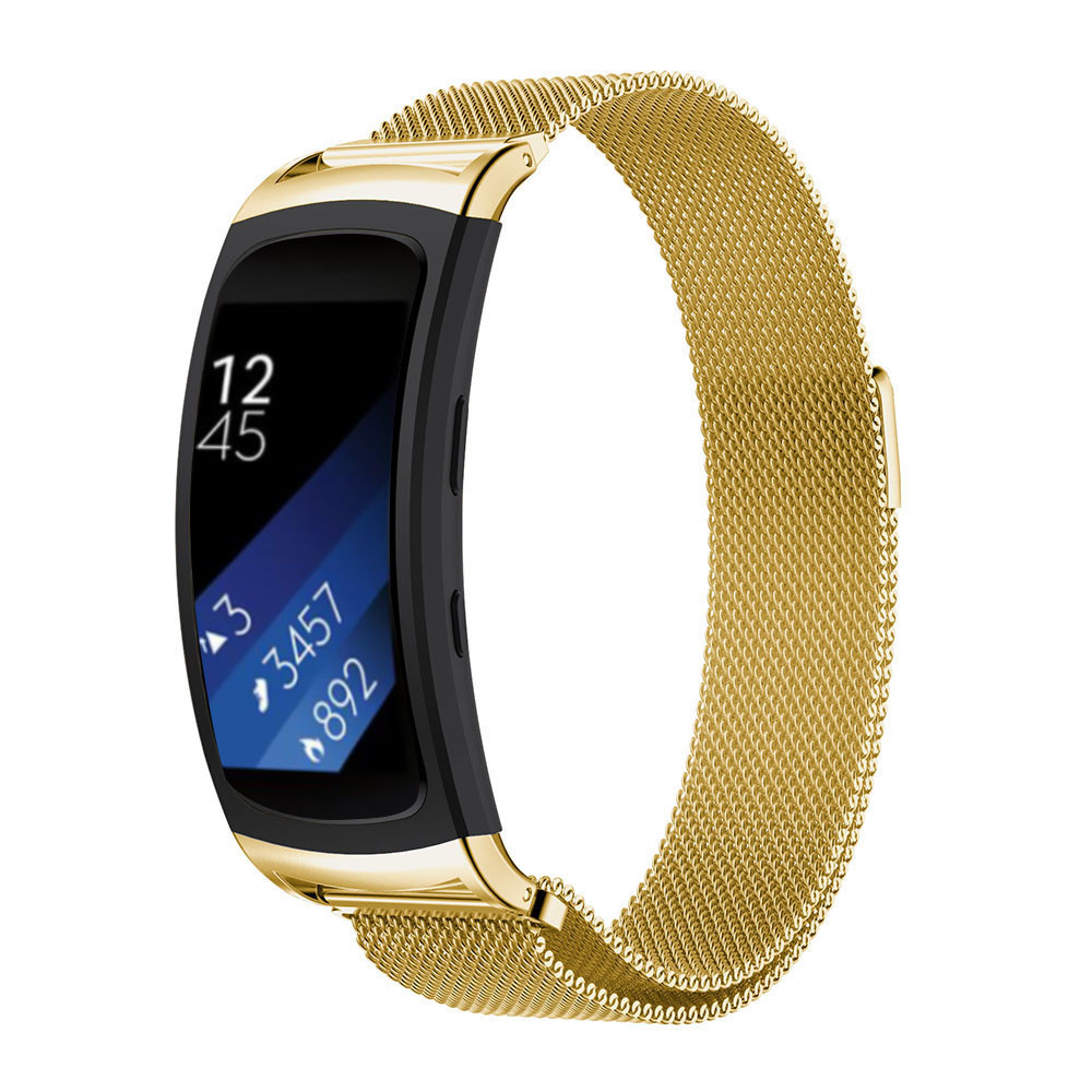 Superior Milanese Magnetic Loop Stainless Steel Band For Samsung Gear Fit 2 SM-R360 Oct 18 samsung gear fit в казани