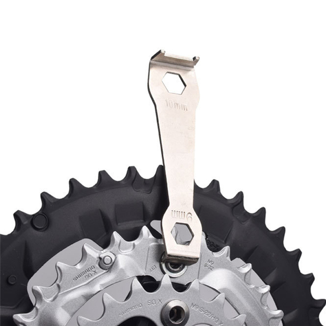 Steel Bicycle Spanner Wrench