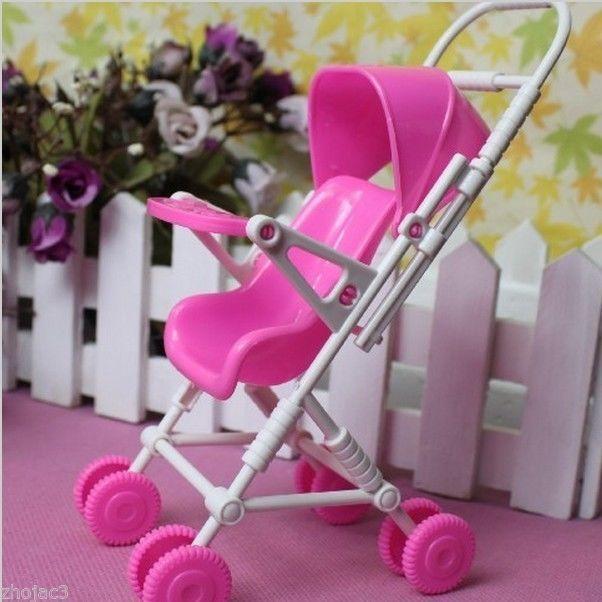 Nuevo color de rosa bebé cochecito carro vivero muebles juega para ...
